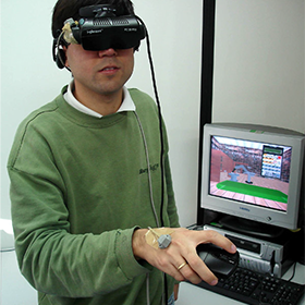 Link to the page about the use of virtual reality on professional robotics education